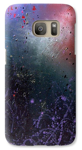Galaxy Case featuring the painting Happiness by Min Zou