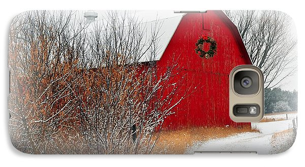 Galaxy Case featuring the photograph Happy Holidays by Terri Gostola