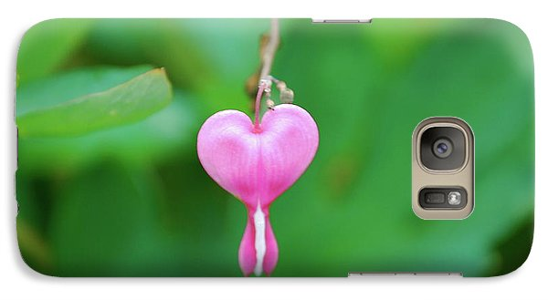 Galaxy Case featuring the photograph Heart On A Vine by Kathy Gibbons