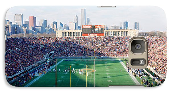 Soldier Field Galaxy S7 Case - High Angle View Of Spectators by Panoramic Images