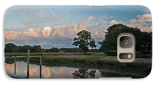 Galaxy Case featuring the photograph Hilton Head Island Lan 370 by G L Sarti