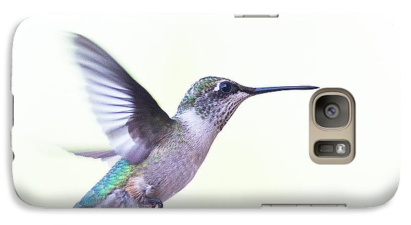Galaxy Case featuring the photograph Hummer by Annette Hugen