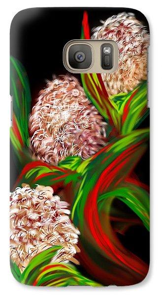 Galaxy Case featuring the digital art Hyacinth by Christine Fournier