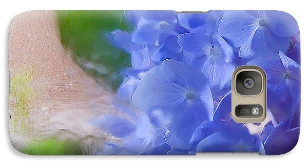 Galaxy Case featuring the photograph Hydrangea by Anna Rumiantseva