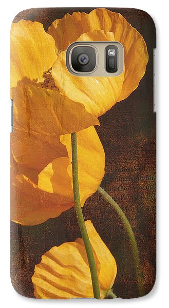 Icelandic Poppy Galaxy S7 Case