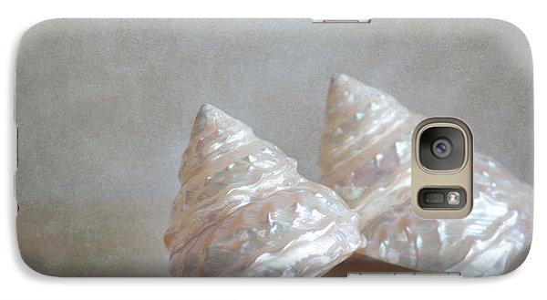 Galaxy Case featuring the photograph Iridescent Shells by Aiolos Greek Collections