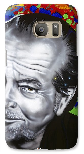 Jack Galaxy Case by Alicia Hayes