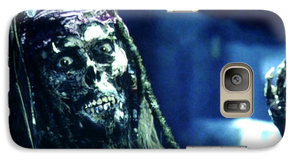 Orlando Bloom Galaxy S7 Case - Jack Sparrow by Jack Hood