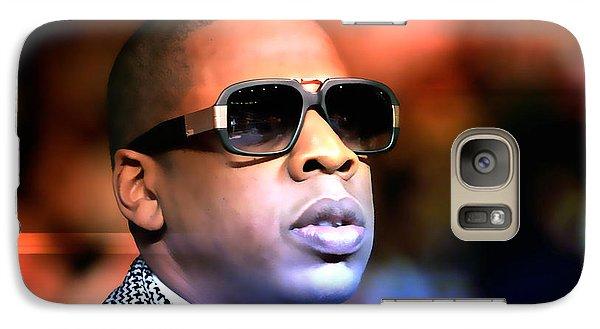 Jay Z Galaxy Case by Marvin Blaine