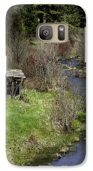 Galaxy Case featuring the photograph Jenny Creek by Betty Depee