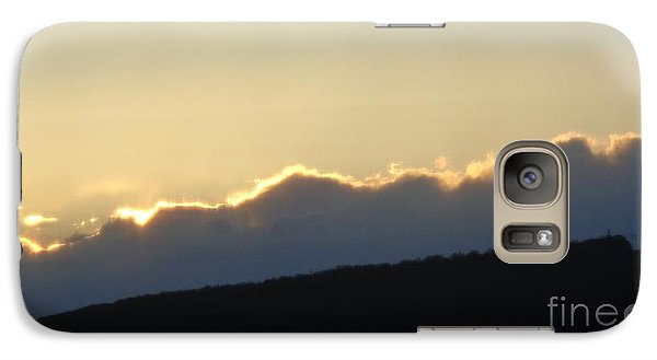 Galaxy Case featuring the photograph 2 - June Sunset 2 by Christina Verdgeline