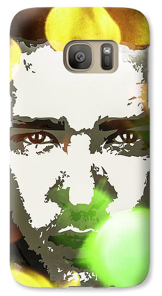 Galaxy Case featuring the digital art Justin Timberlake by Svelby Art