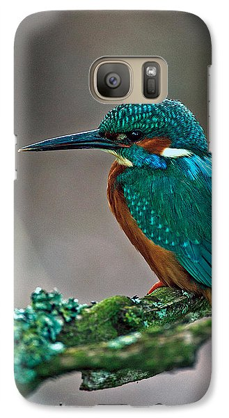 Galaxy Case featuring the photograph Kingfisher by Paul Scoullar