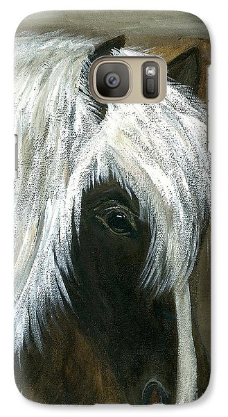 Galaxy Case featuring the painting Kola by Barbie Batson