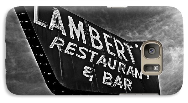 Galaxy Case featuring the photograph Lambert's Restaurant And Bar by Andy Crawford