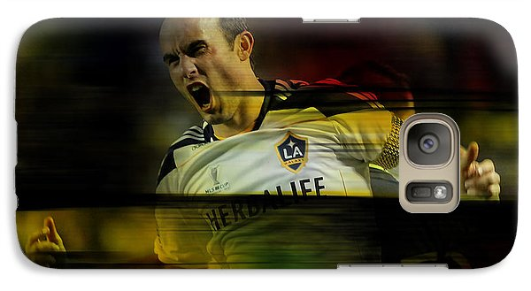 Landon Donovan Galaxy S7 Case by Marvin Blaine