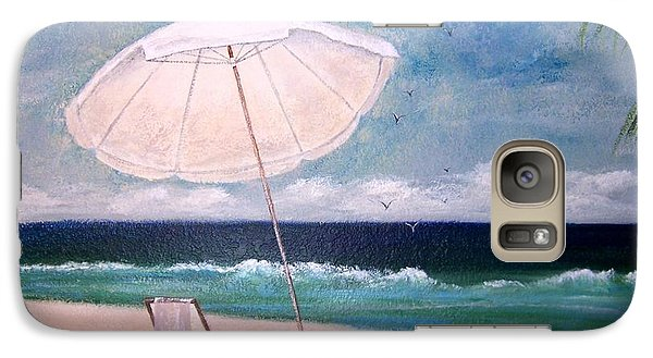 Galaxy Case featuring the painting Lazy Day by Jamie Frier