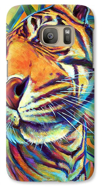Galaxy Case featuring the painting Le Tigre by Robert Phelps
