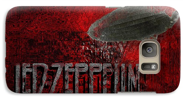Led Zeppelin Galaxy Case by Jack Zulli