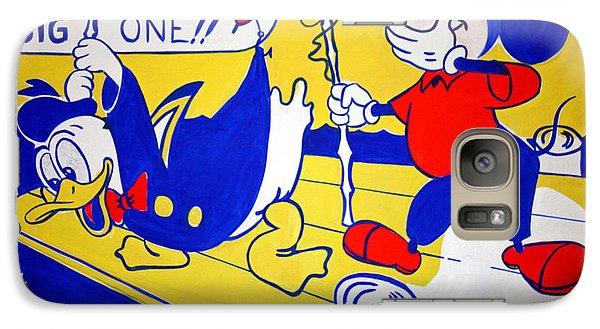 Galaxy Case featuring the photograph Lichtenstein's Look Mickey by Cora Wandel