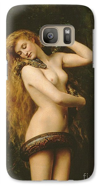 Lilith Galaxy S7 Case by John Collier