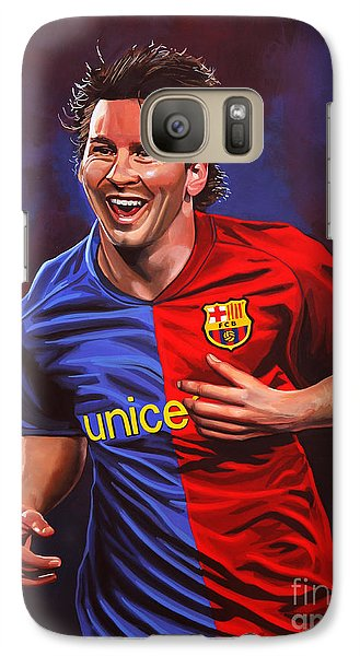 Lionel Messi  Galaxy S7 Case