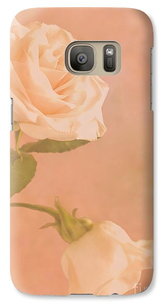 Galaxy Case featuring the photograph Love Whispers Softly by Sandi Mikuse