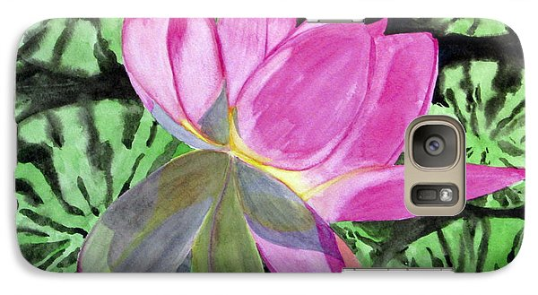 Galaxy Case featuring the painting Lovely Lily by Debi Singer