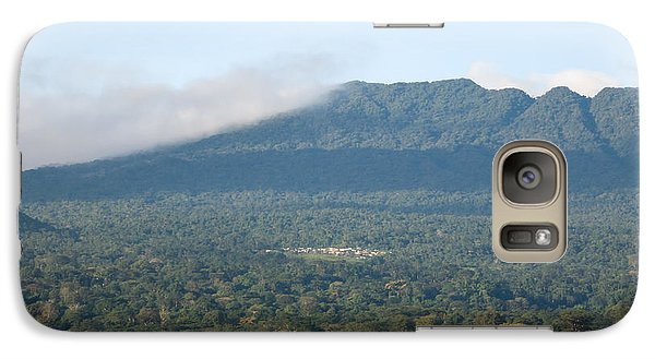 Galaxy Case featuring the photograph Luba On Island Of Bioko In Equatorial Guinea by Gregory Daley  PPSA