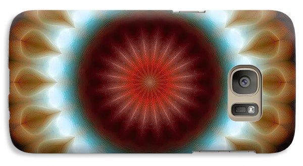 Galaxy Case featuring the digital art Mandala 83 by Terry Reynoldson