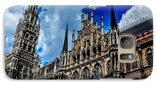 Galaxy Case featuring the photograph Marienplatz In Munich by Joe  Ng