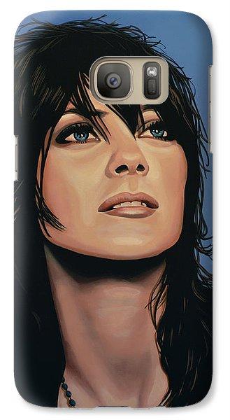 Knight Galaxy S7 Case - Marion Cotillard by Paul Meijering
