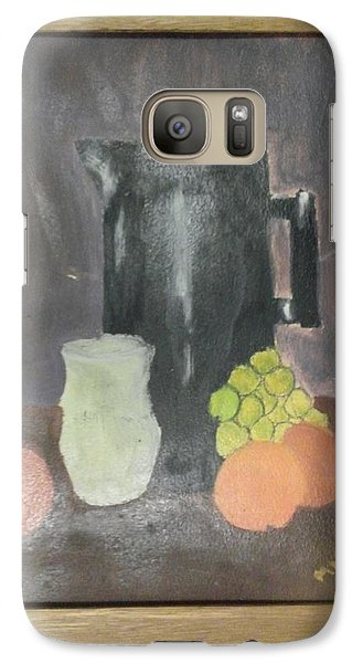 Galaxy Case featuring the painting #2 by Mary Ellen Anderson