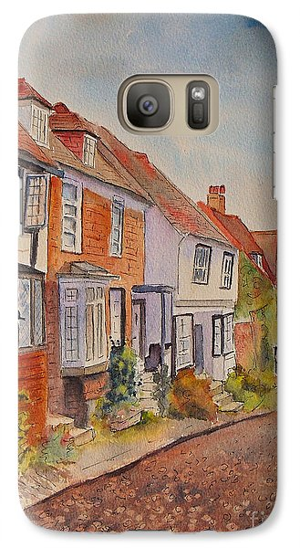 Mermaid Street Rye Galaxy S7 Case by Beatrice Cloake