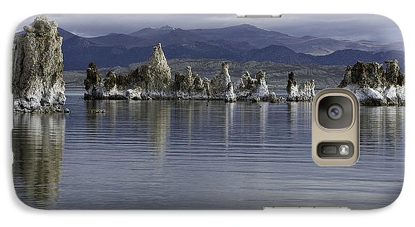 Galaxy Case featuring the photograph Mono Lake by Betty Depee