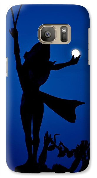 Galaxy Case featuring the photograph Mooncatcher by Ricardo J Ruiz de Porras