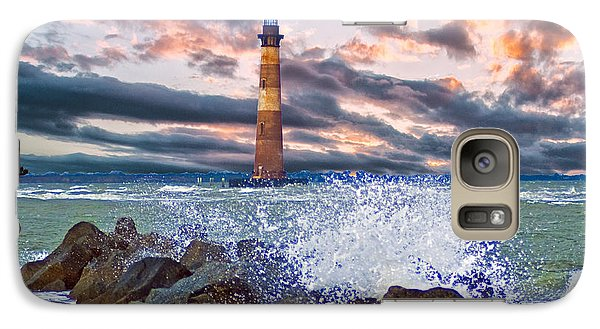 Morris Island Lighthouse Galaxy S7 Case by Bill Barber