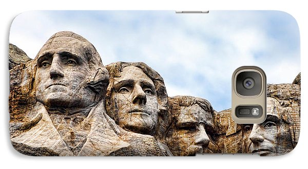 Mount Rushmore Monument Galaxy S7 Case by Olivier Le Queinec