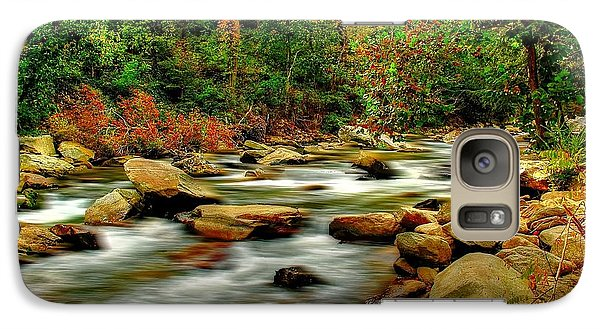 Galaxy Case featuring the photograph Mountain Stream by Ed Roberts