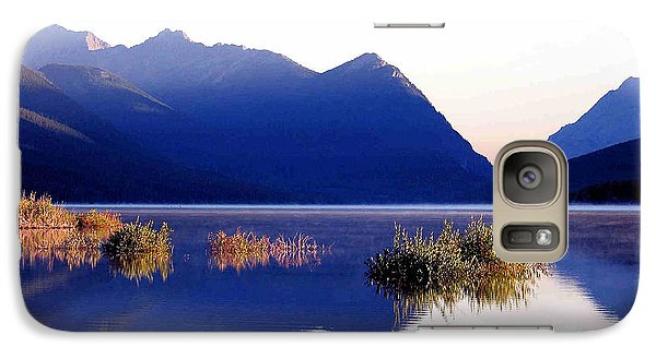 Galaxy Case featuring the photograph Mountain Sunrise by Gerry Bates