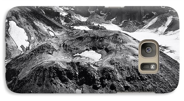 Galaxy Case featuring the photograph Mt St. Helen's Crater by David Millenheft