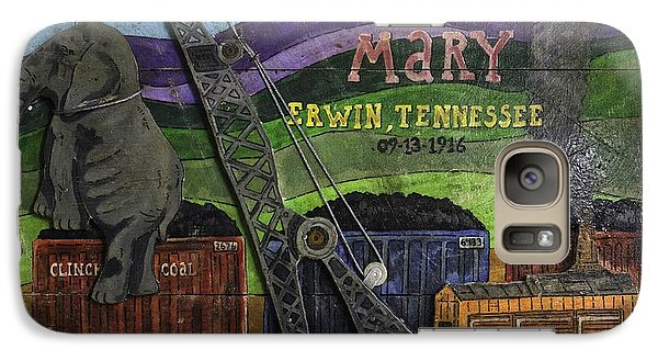 Galaxy Case featuring the painting Murderous Mary - Hung In 1916 by Eric Cunningham