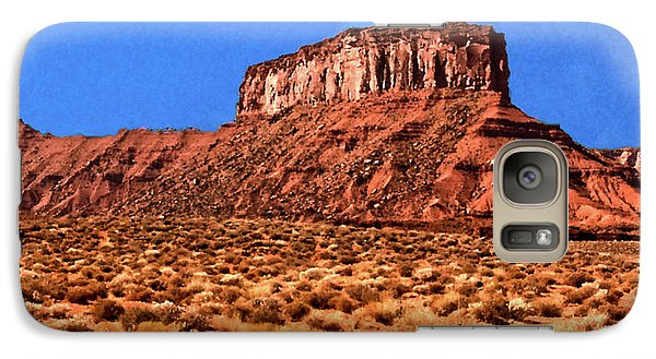 Galaxy Case featuring the painting National Navajo Tribal Park by Bob and Nadine Johnston