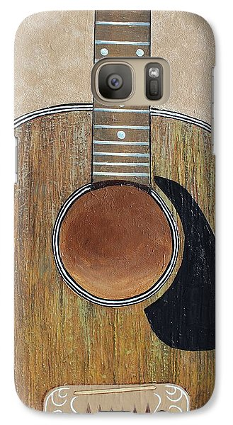 Galaxy Case featuring the painting No Strings Attached by Steve  Hester