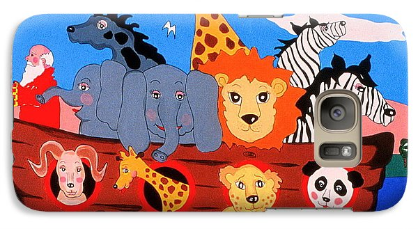 Galaxy Case featuring the painting Noah's Ark by Joyce Gebauer