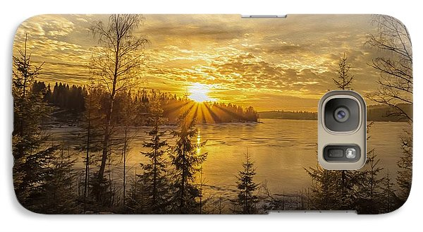 Galaxy Case featuring the photograph Norway by Rose-Maries Pictures
