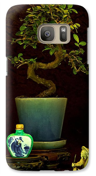 Galaxy Case featuring the photograph Old Man And The Tree by Elf Evans