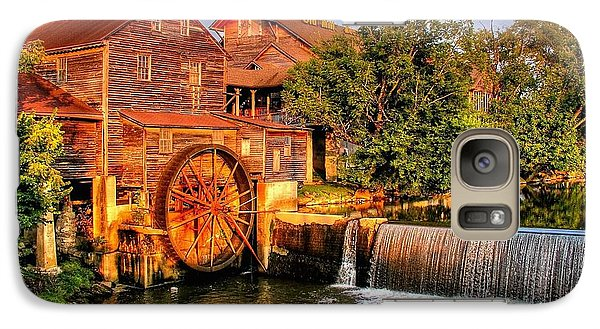 Galaxy Case featuring the photograph Old Water Mill by Ed Roberts