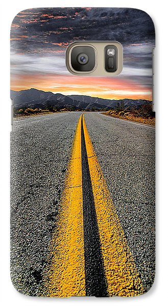 Galaxy S7 Case - On Our Way  by Ryan Weddle