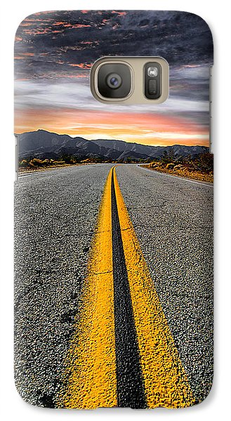 On Our Way  Galaxy S7 Case by Ryan Weddle